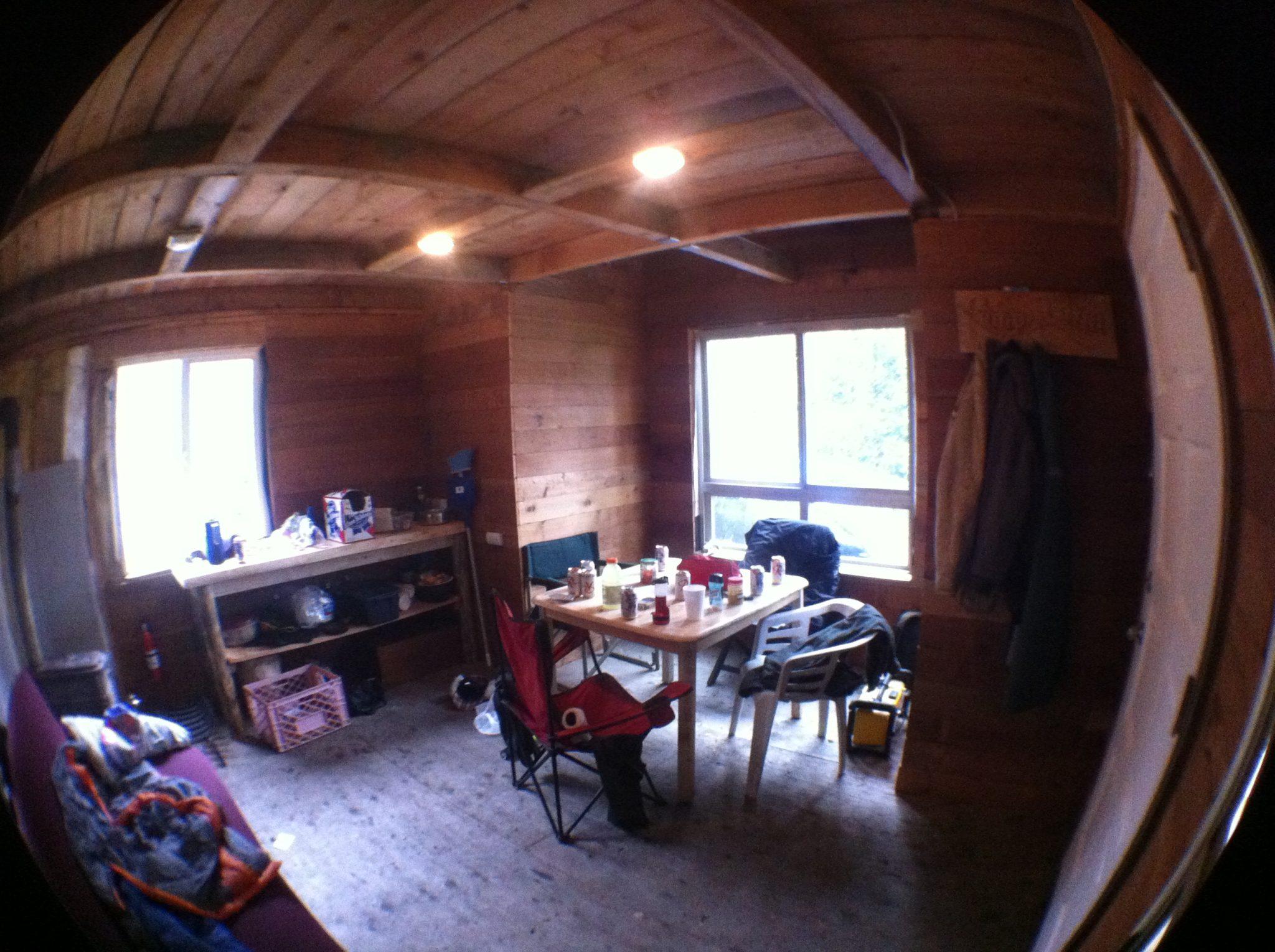 Solar Burrito Off Grid Cabin Interior