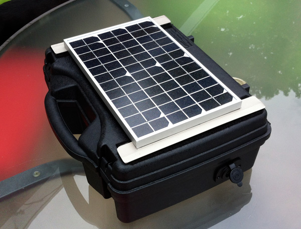 Build Your own Portable Solar Generator for less than $150