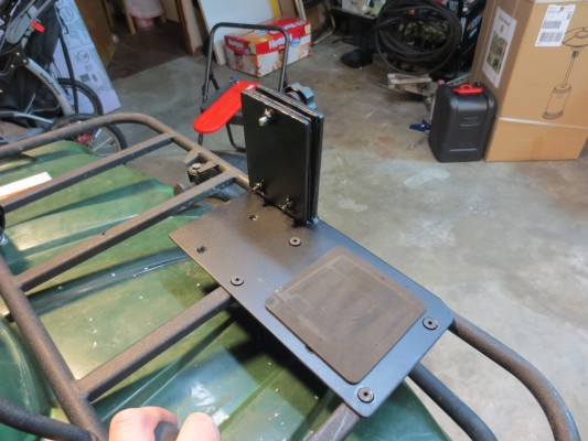 Building an ATV Chainsaw Mount