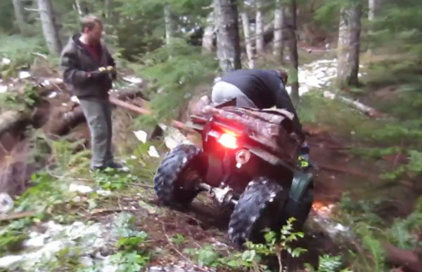 Epic ATV Ride to Secret Lake -Video